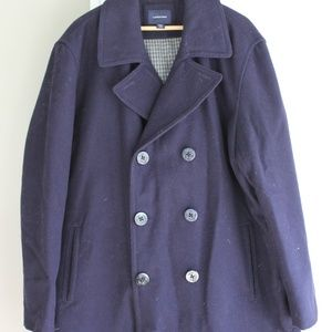 Men's xxl Lands End Pea Coat
